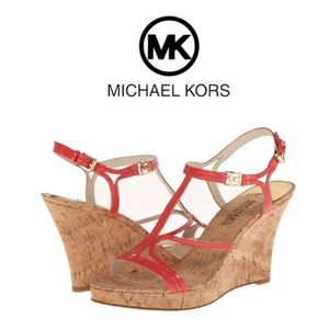 NWOB Michael Kors Cecely Wedge Sandal